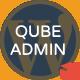 QubeAdmin Pro - Tema WP- Admin - WorldWideScripts.net Item for Sale