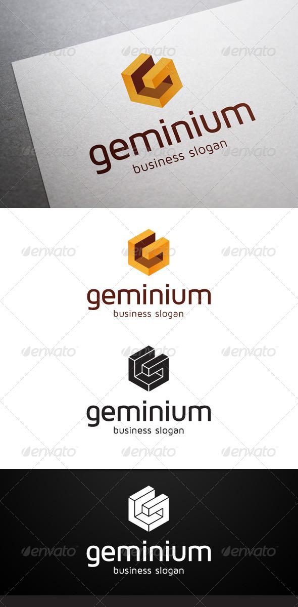GraphicRiver Geminium G Letter Logo 5337745