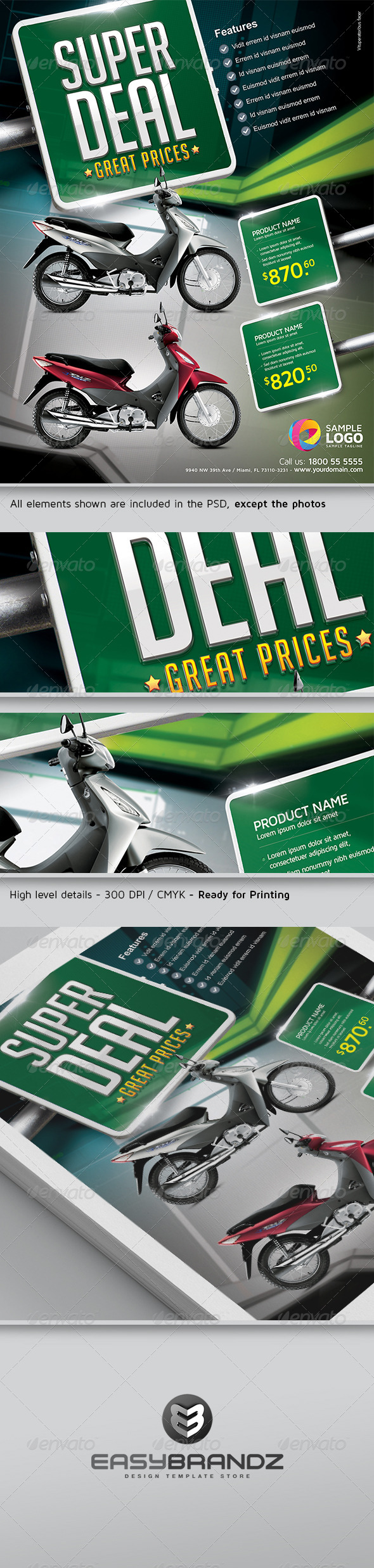 GraphicRiver Super Deal Flyer Template 5338001