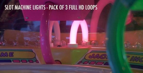 Slot Machine Lights Pack of 3 Loops