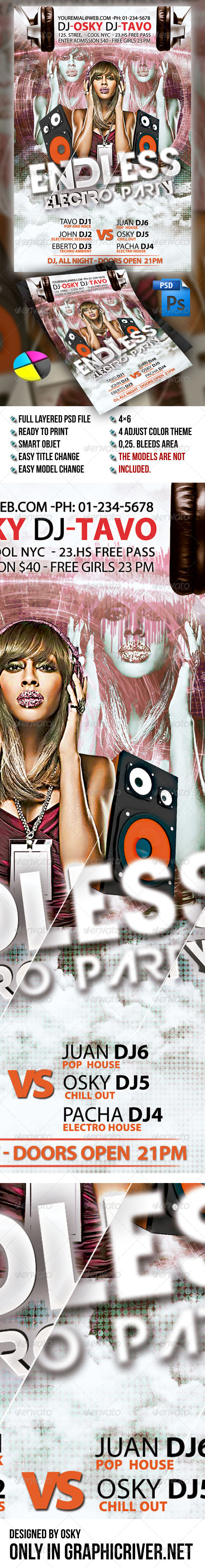 GraphicRiver Endless Electro Party 5338122