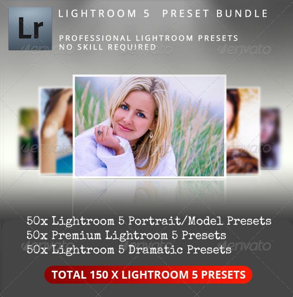 GraphicRiver Premium Lightroom 5 Preset Bundle 5338267