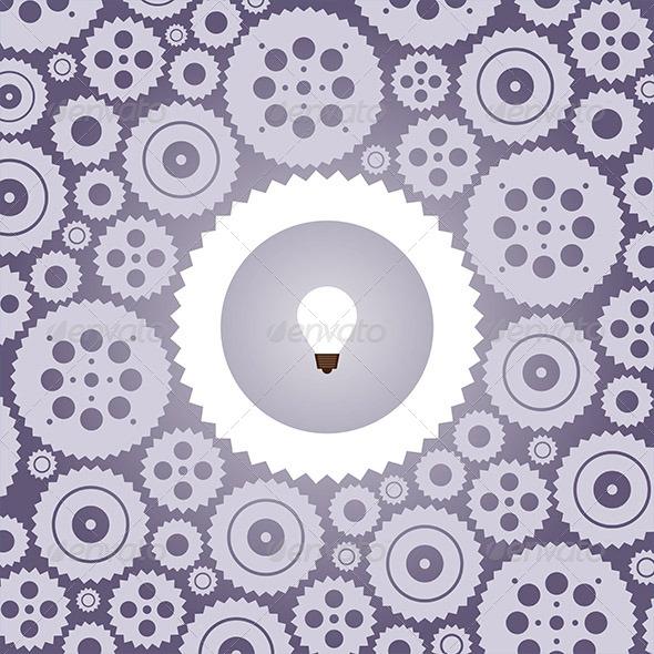 GraphicRiver Idea Cogwheel 5338330