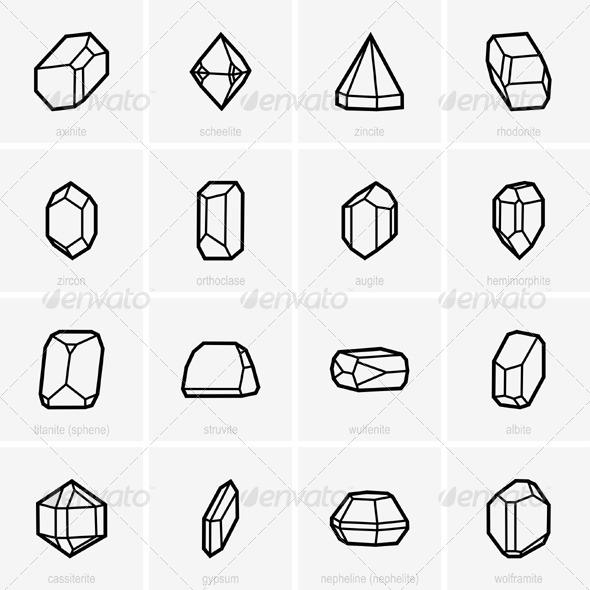 GraphicRiver Crystals 5338498