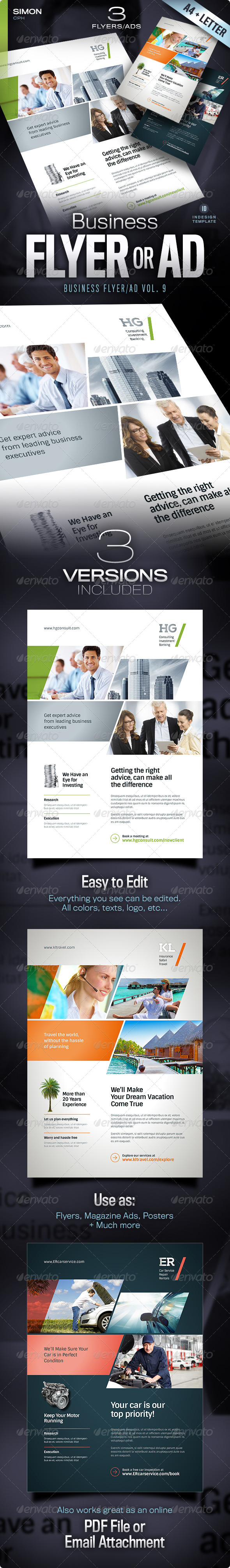 GraphicRiver Business Flyer Ad Vol 9 5338782