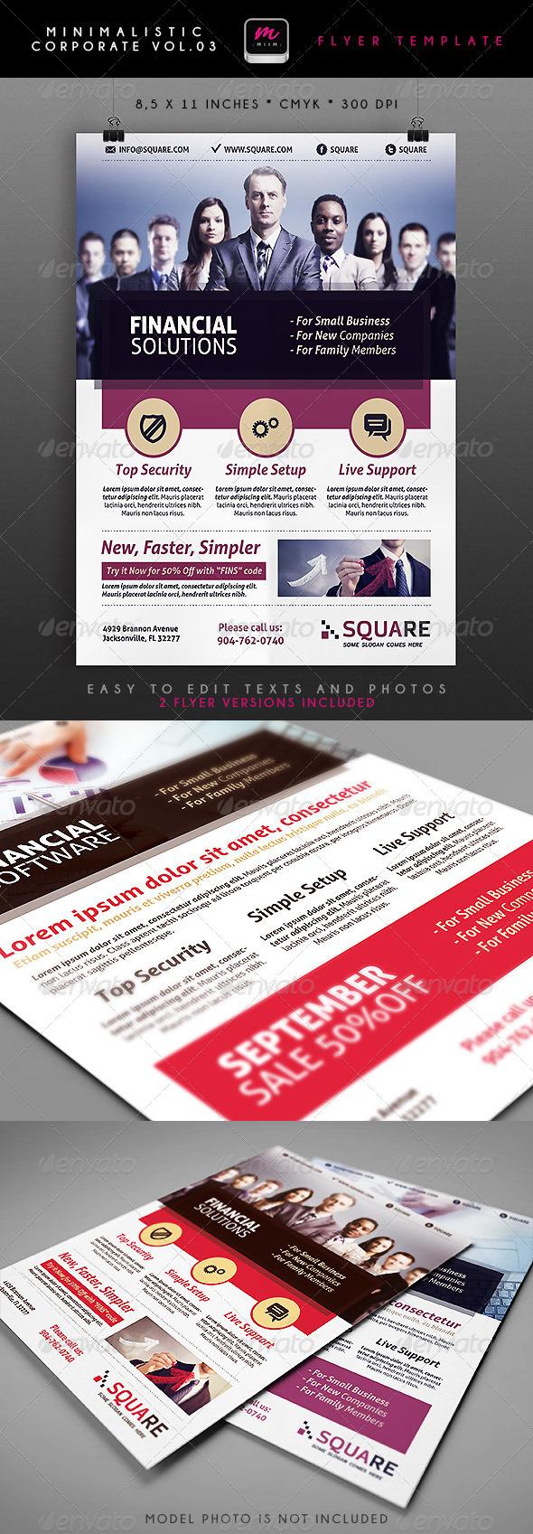 GraphicRiver Minimalistic Corporate Flyer 3 5339027