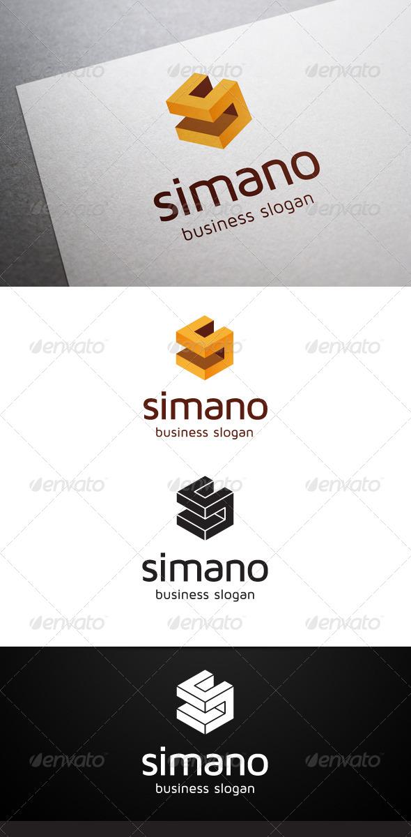 GraphicRiver Simano S Letter Logo 5339031