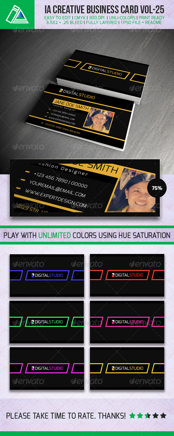 GraphicRiver IntenseArtisan BUSINESS CARD VOL.25 5339425