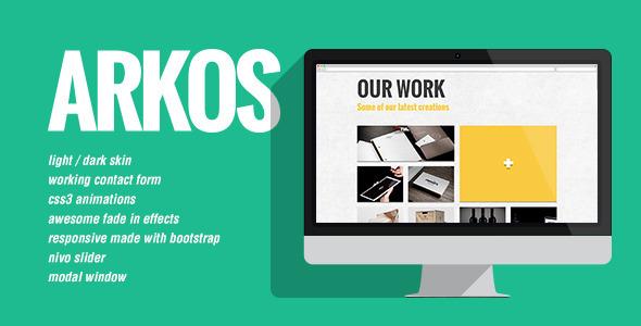 ThemeForest Arkos 5325215