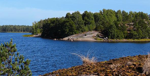 Small Islands in the Baltic Sea