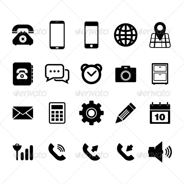 GraphicRiver Mobilephone Icon 5339687