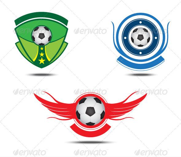 GraphicRiver Soccer Emblem 5339790