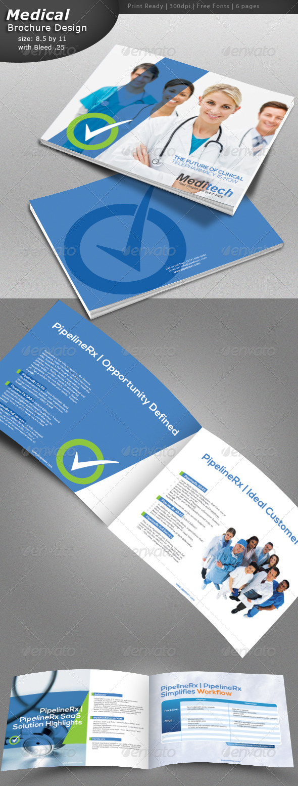 GraphicRiver Medical Brochure Design 5339909