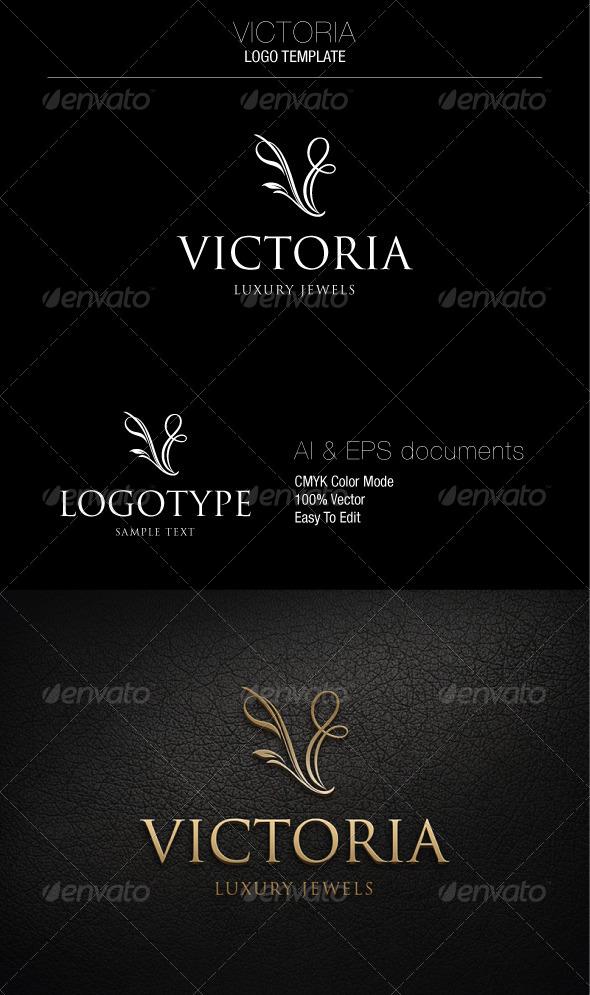 GraphicRiver Victoria Logo Template 5340212