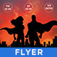 SuperHero - Themed Party Flyer/Poster - GraphicRiver Item for Sale