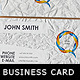 Crumbled Paper Business Card