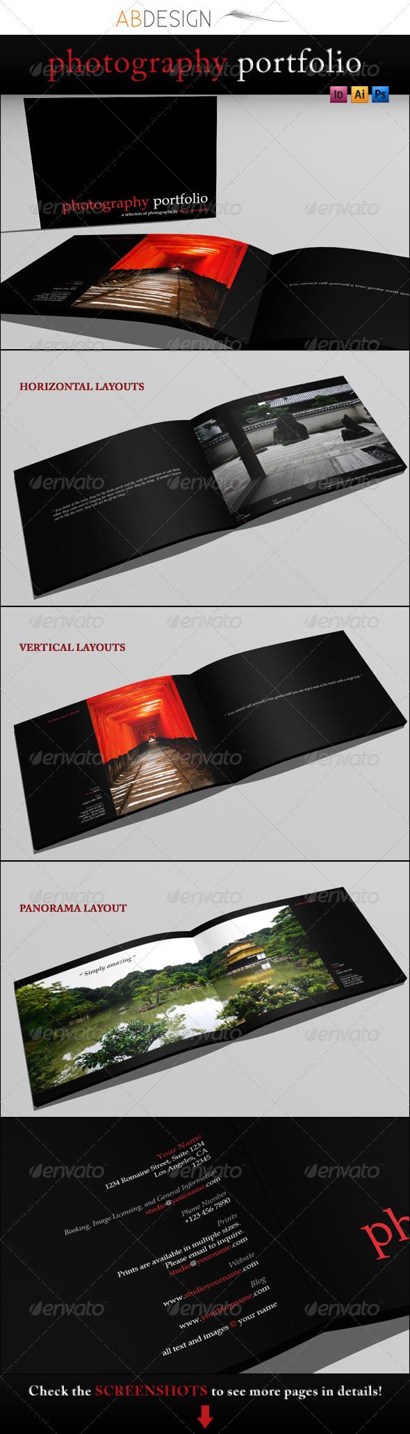 GraphicRiver A4 Photography Portfolio 164797
