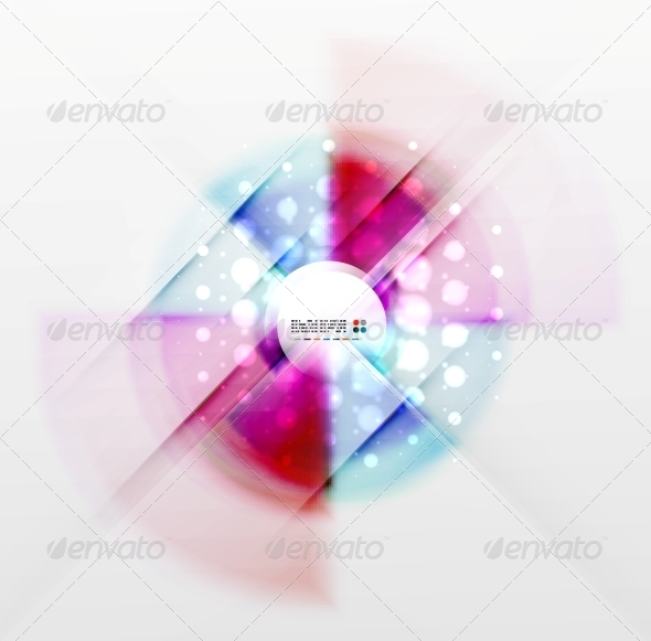 GraphicRiver Radial Colorful Futuristic Background 5340936