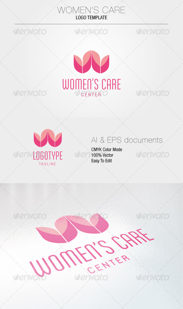 GraphicRiver Women s Care Logo Template 5336960