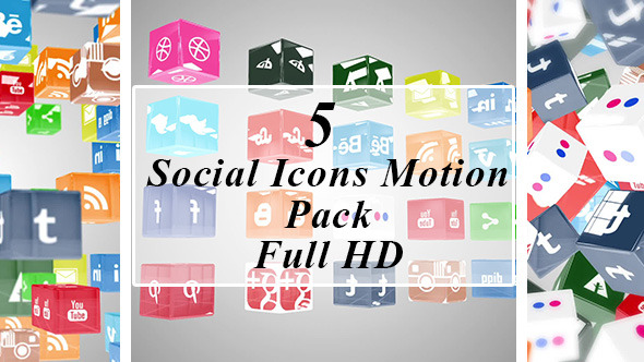 Social Icons Motion Pack