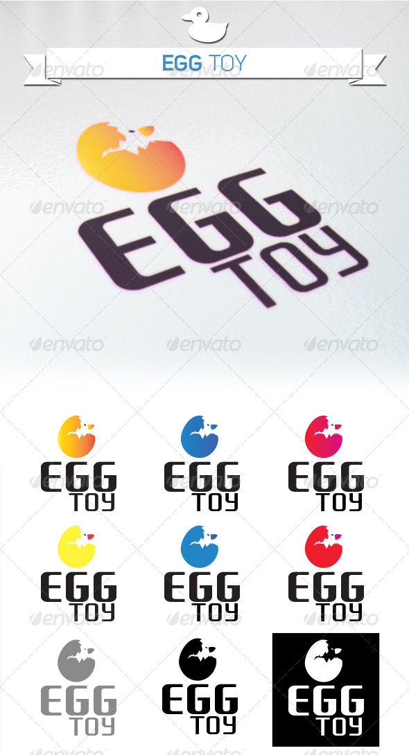 GraphicRiver Egg Toy 5261863