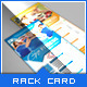 Pure Fitness - Go Gym - Rack Card Flyer Template - GraphicRiver Item for Sale