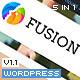 Fusion Responsive Premium Wordpress Theme - ThemeForest Item for Sale