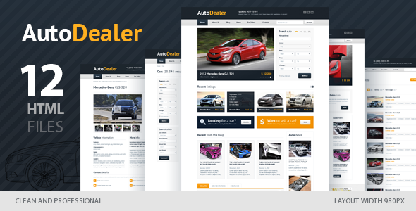 Auto Dealer - Car Dealer HTML Template