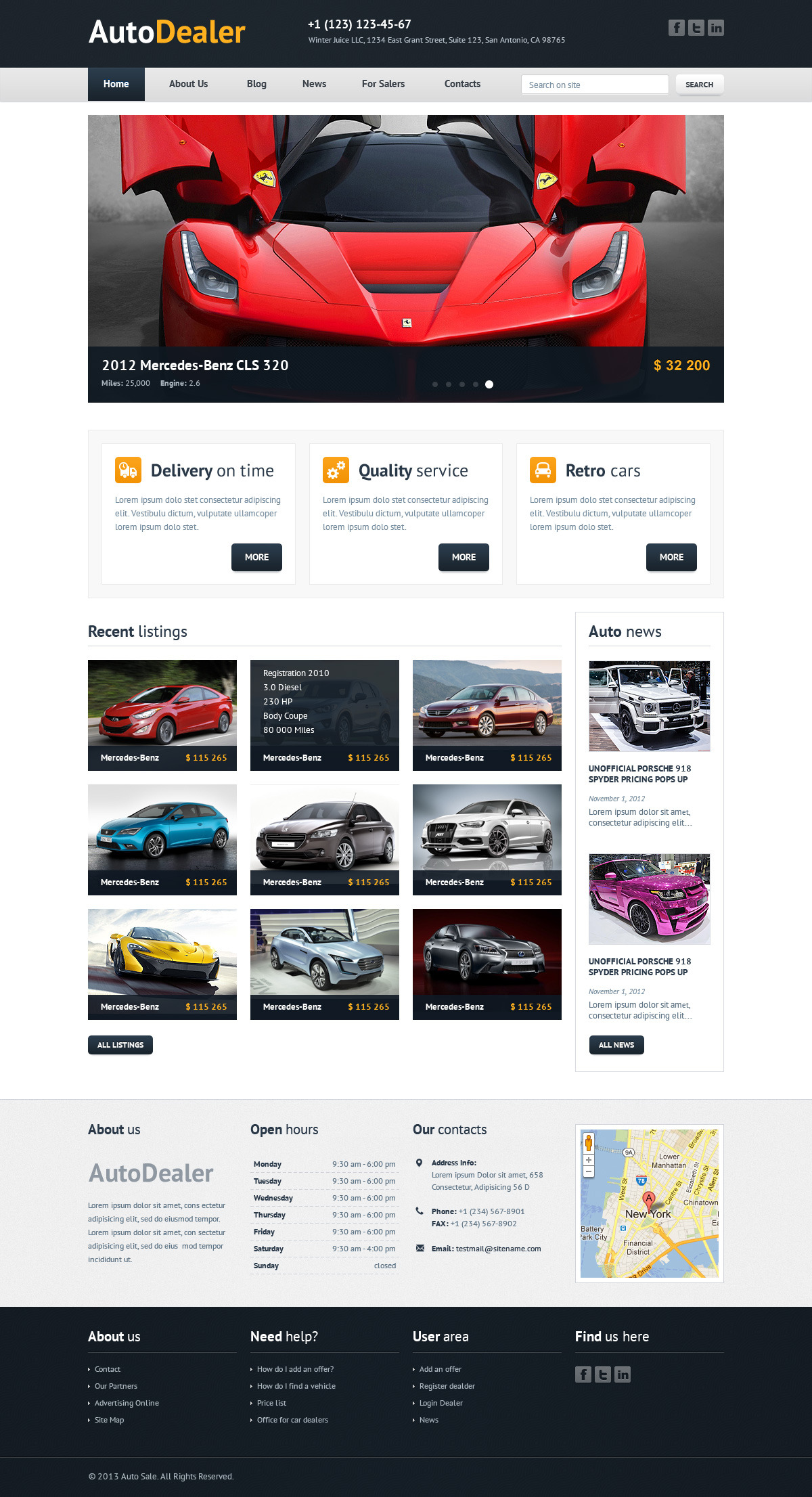 Auto Shop Invoice Template Pdf Download Car Sales Templates  Rabitahnet Blank Invoice Word Word with Professional Invoice Template Excel Pdf Auto Dealer  Car Dealer Html Template By Winterjuice  Themeforest Invoice  Templates How To Complete An Invoice Pdf