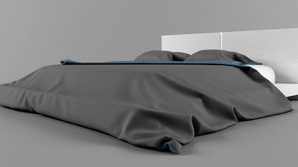 3DOcean Modern Bed 5343057