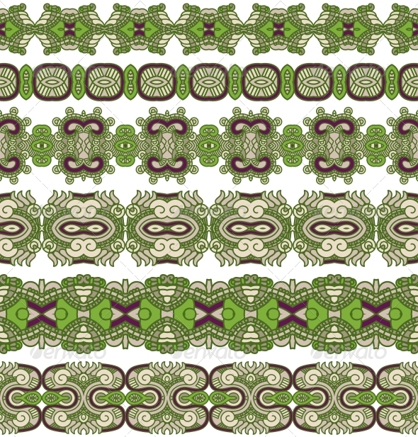 GraphicRiver Ornamental Seamless Pattern 5343099