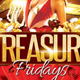 Treasure Party Flyer Template - GraphicRiver Item for Sale