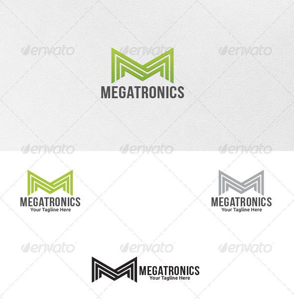 GraphicRiver Letter M Logo Template 5343677