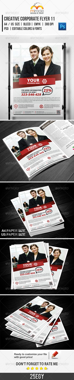 GraphicRiver Creative Corporate Flyer 11 5343940