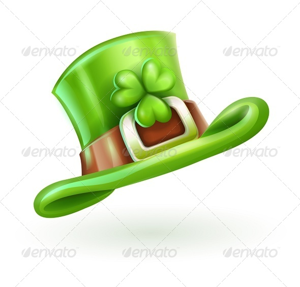 GraphicRiver Green Cap of Saint Patrick 5343952