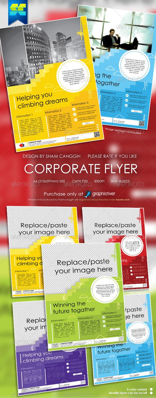 Modern Multi-purpose Corporate Flyer - Corporate Flyers
