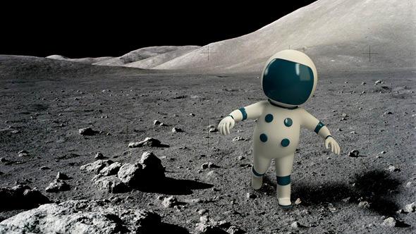 3DOcean Spaceman Character 5344539