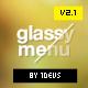 Narsis CSS3 Glassy Menu