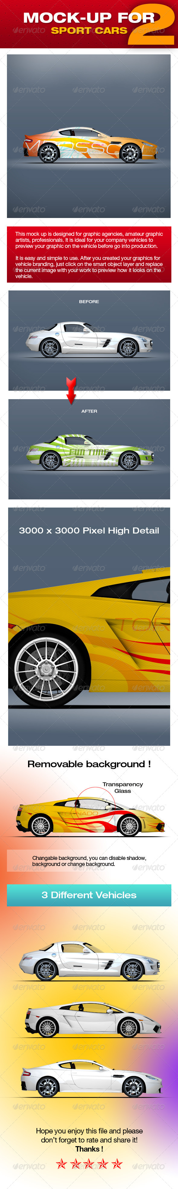 GraphicRiver Mock-up For Sport Cars 2 5310003