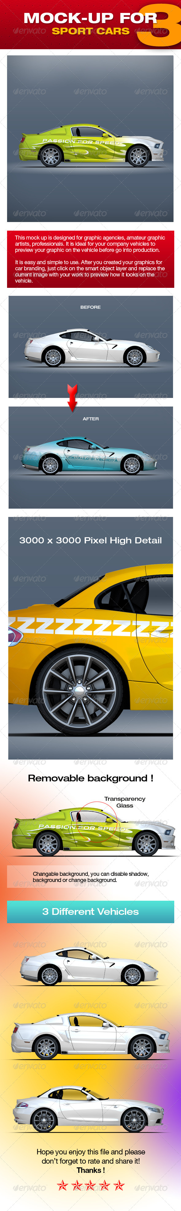 GraphicRiver Mock-up For Sport Cars 3 5310498