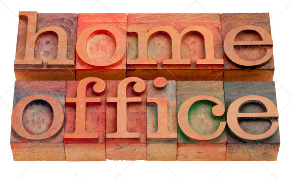 home office - Stock Photo - Images