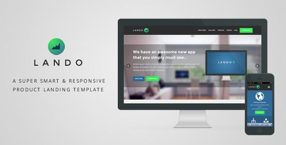 LANDO - Responsive Product Landing Template