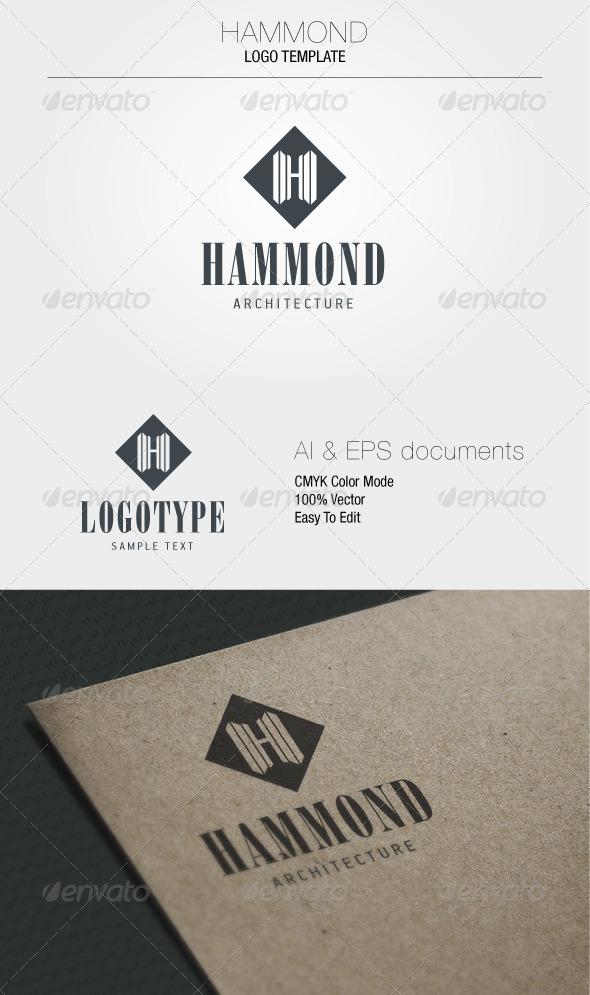 GraphicRiver Hammond Logo Template 5347412