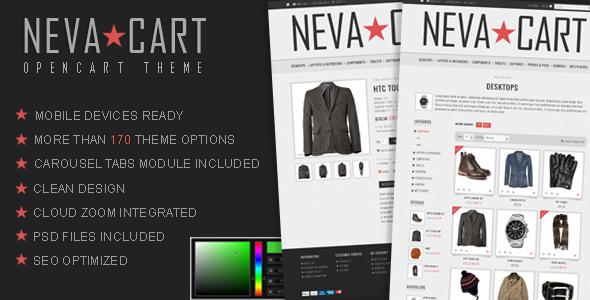 NevaCart - OpenCart Premium Theme