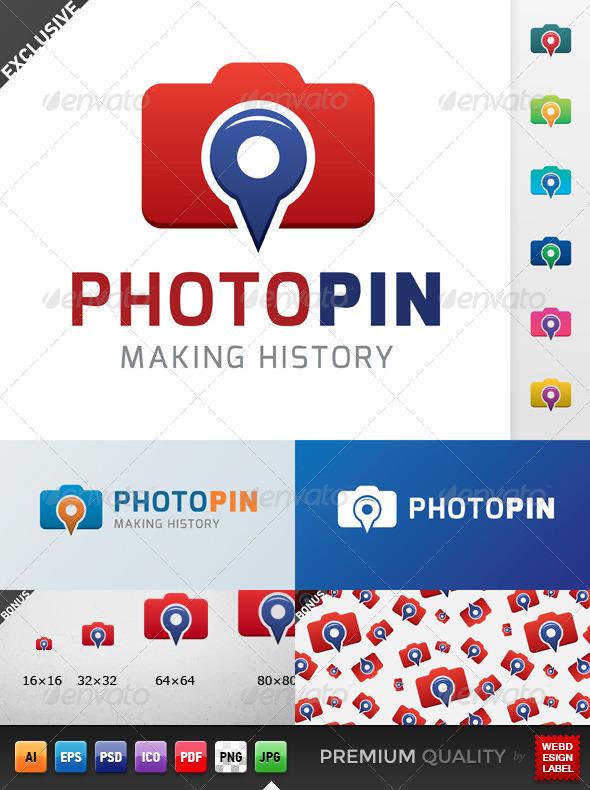 GraphicRiver Photo Pin Logo 5347714