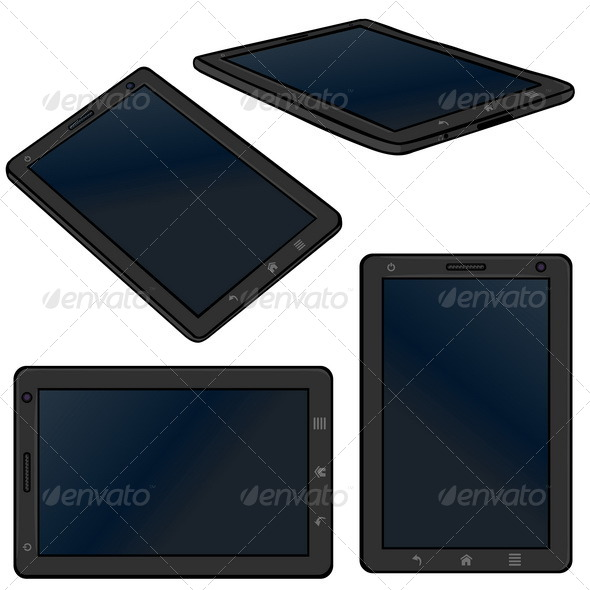 GraphicRiver Vector Tablet PC 5347727