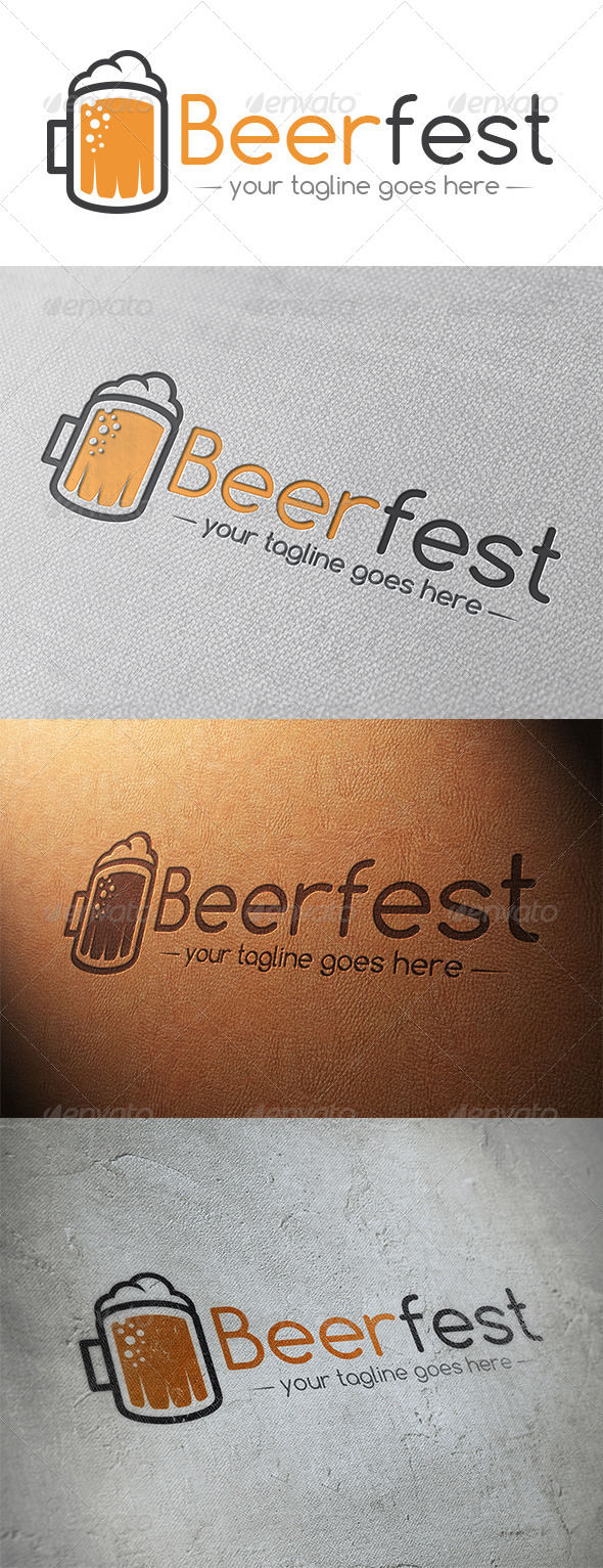GraphicRiver Beer Logo Template 5348125