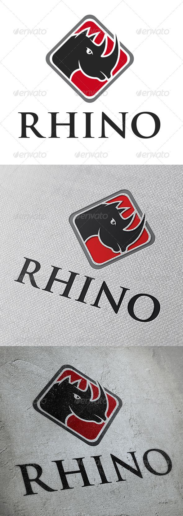 GraphicRiver Rhino Logo Template 5348213