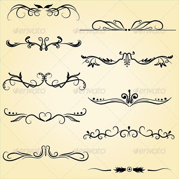GraphicRiver Ornamental Design Elements 5348394