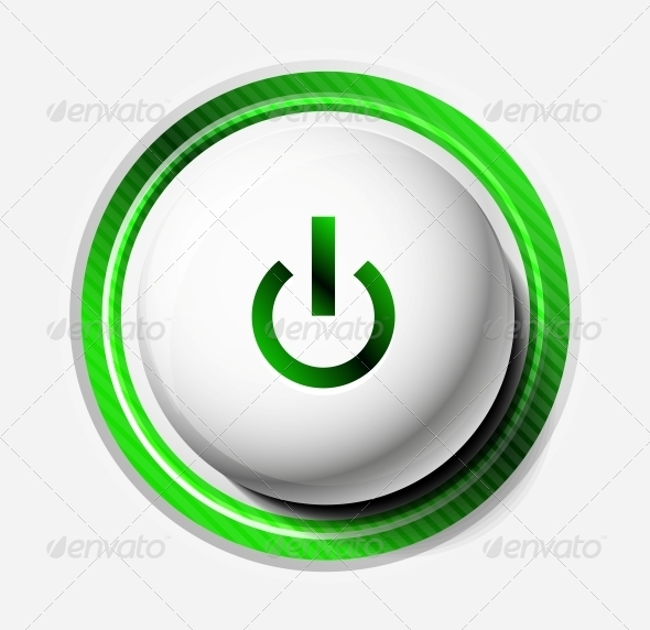 GraphicRiver Color Power Button 5348731